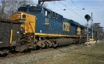 CSX 867 trails on Q418